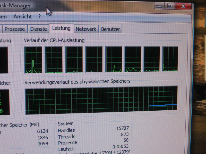 8 Cores on Windows Vista