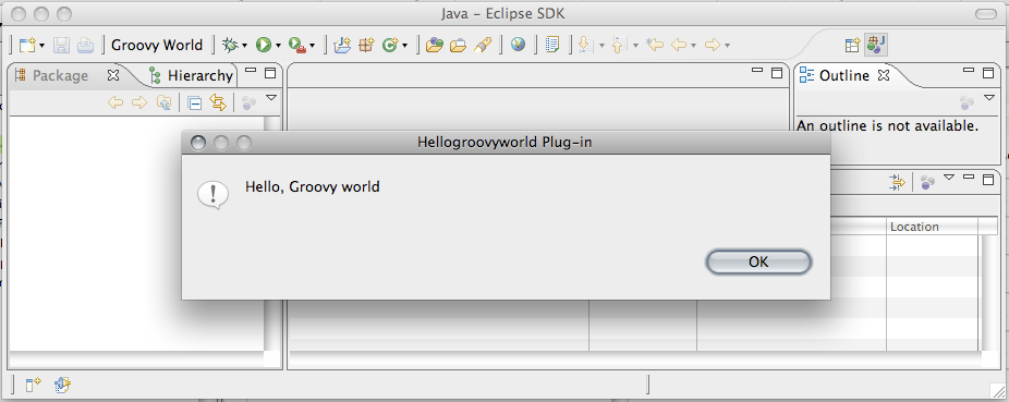 Writing Eclipse plugins with Groovy