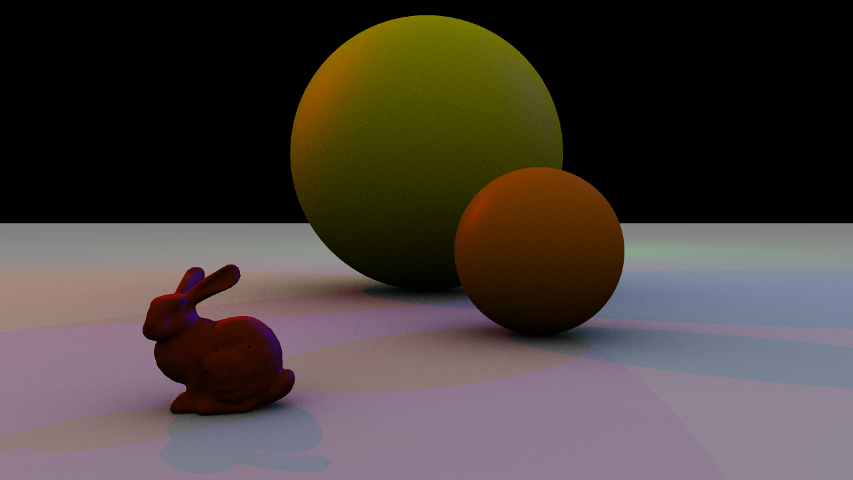 Ambient Occlusion with Bunny