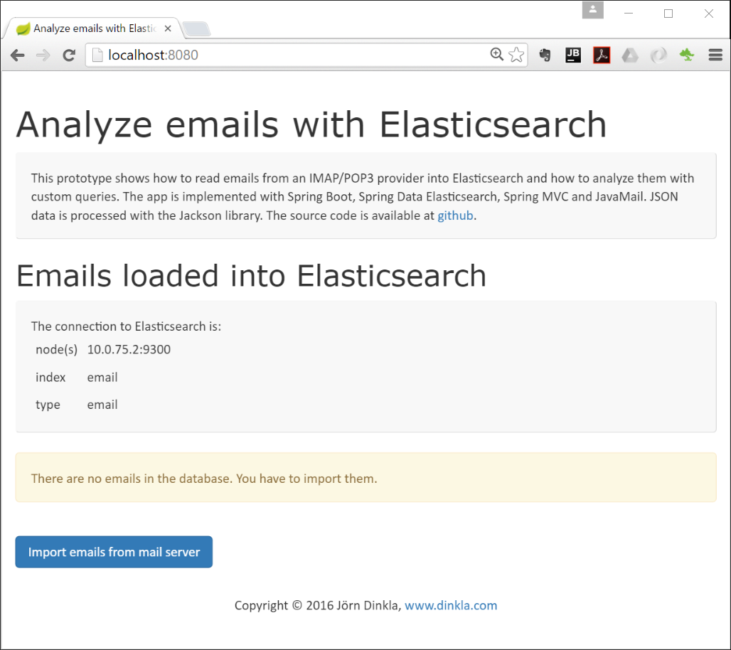 Using Elasticsearch with Spring Boot - Installation and Usage